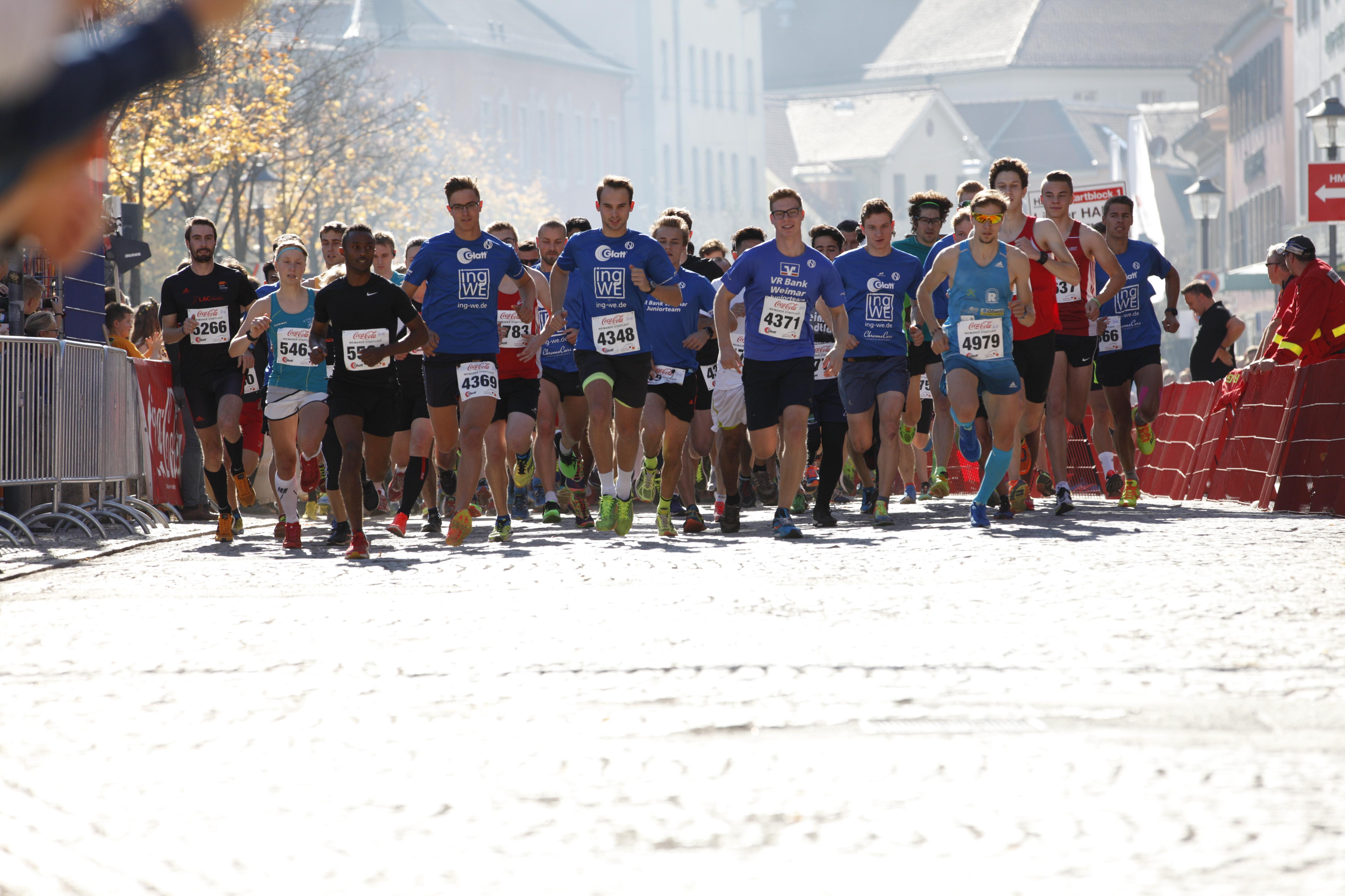 Start 10km-Lauf